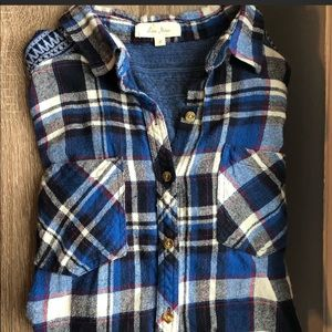 Like New Blue Flannel Shirt from Nordstrom